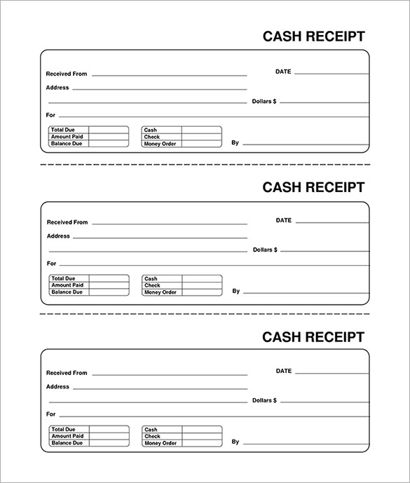 free receipt template - receipt template doc for word documents in different types