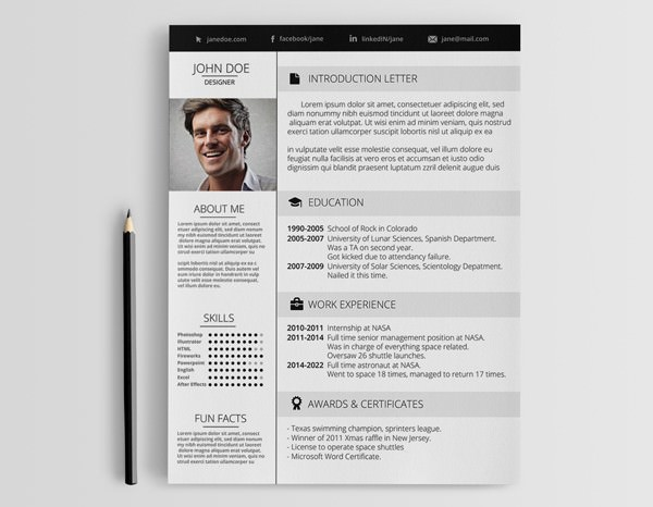 Creative Designer Resume Template