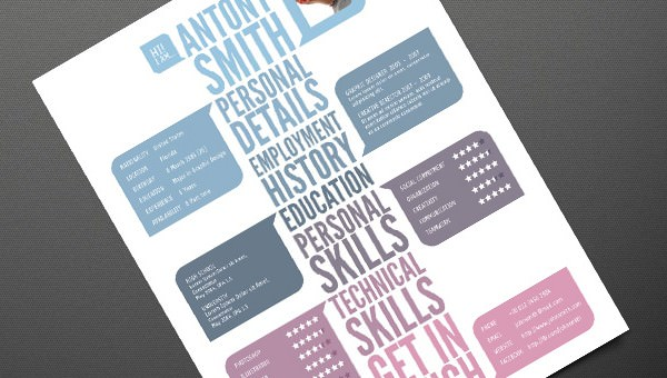 Creative Resume Template Vol