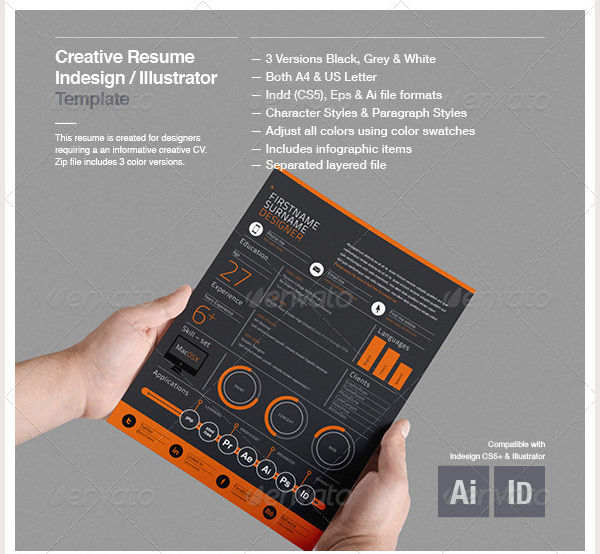 Creative Resume Template3