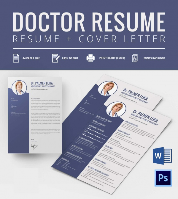 Doctor Resume Template