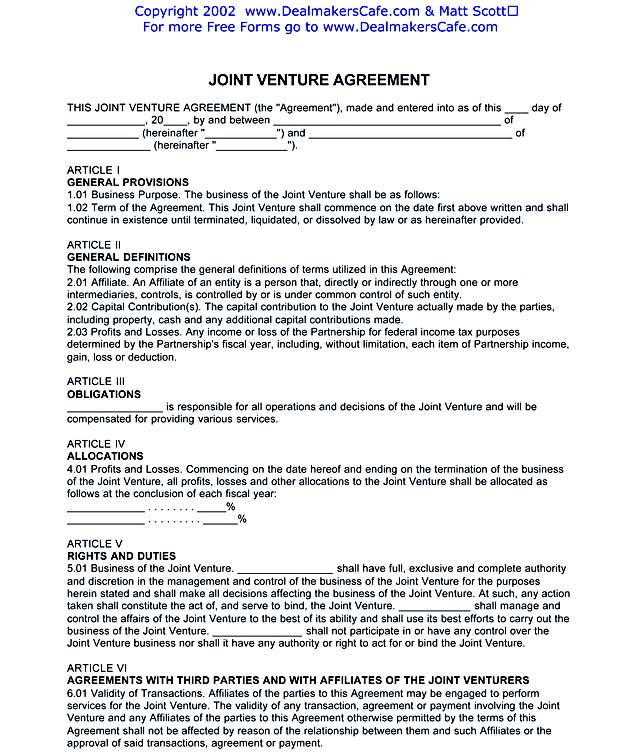 JOINT VENTURE AGREEMENT.PDF