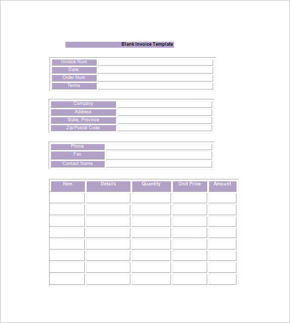 Download Invoice Template Google Docs - Free invoice template google docs