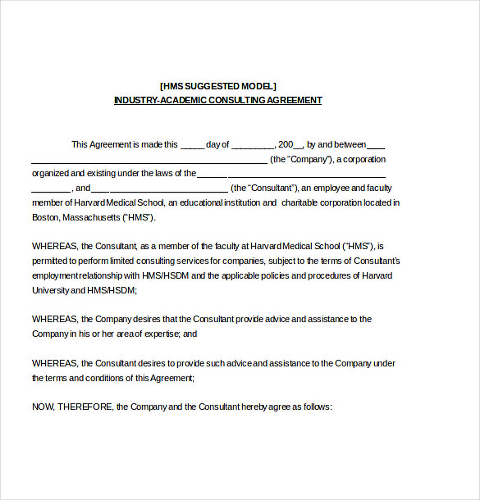 9 consulting agreement template