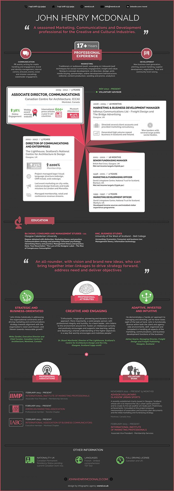 Infographic Resume Template2