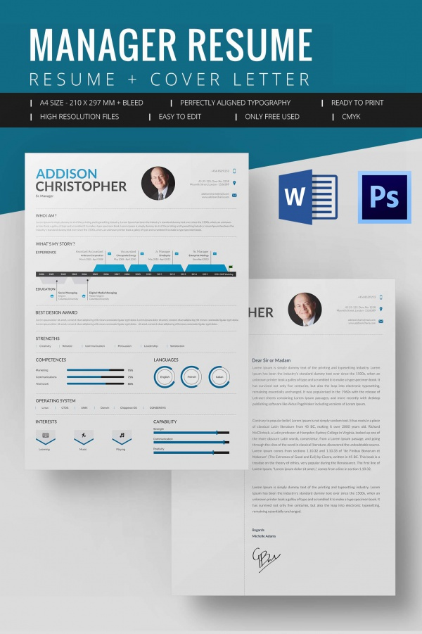 Mac Resume Template – Great For More Professional Yet Attractive