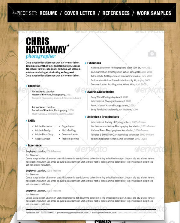 Minimalist Resume Set