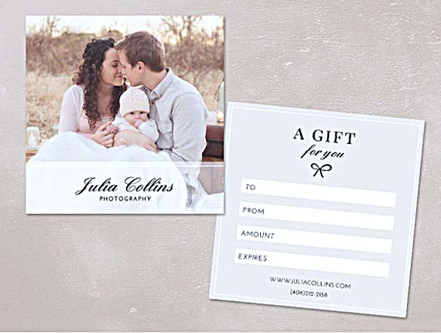 The advantages of offering photography gift certificate template for Photography gift certificate template