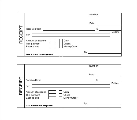 Receipt Template Doc for Word Documents in Different Types You Can Use – Payment Receipt Book