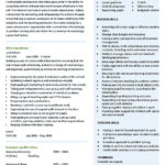 teacher CV template resume