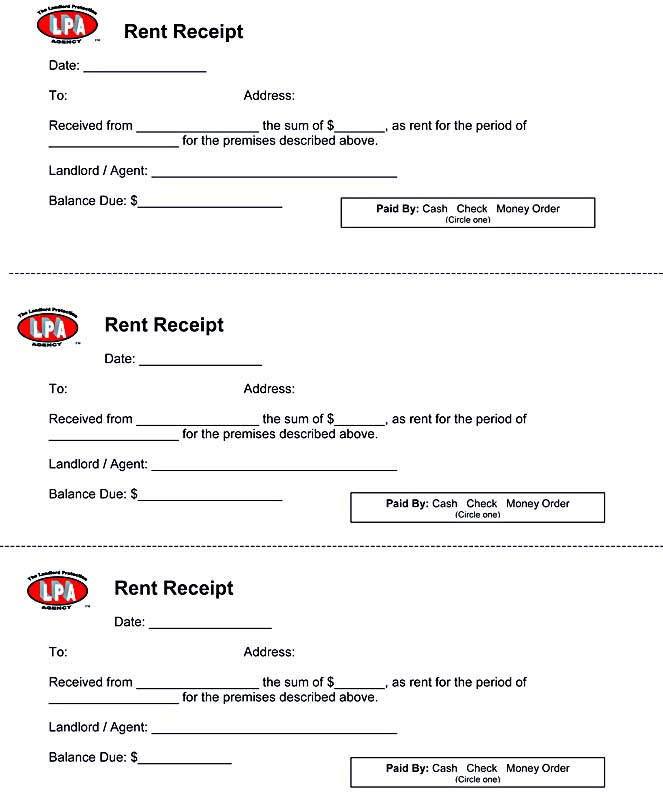 Doc585380 Rent Receipt Format Free Download Rental Receipt – Receipt for Rent Paid