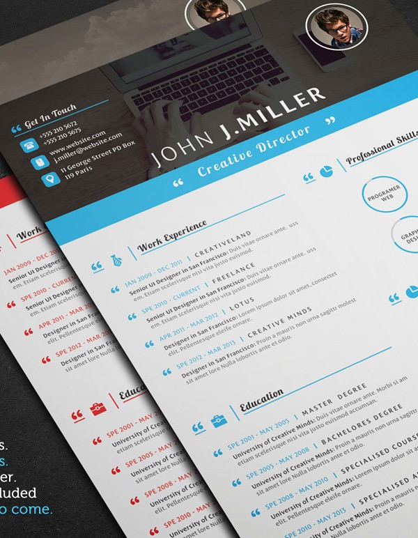 Resume Template for Director