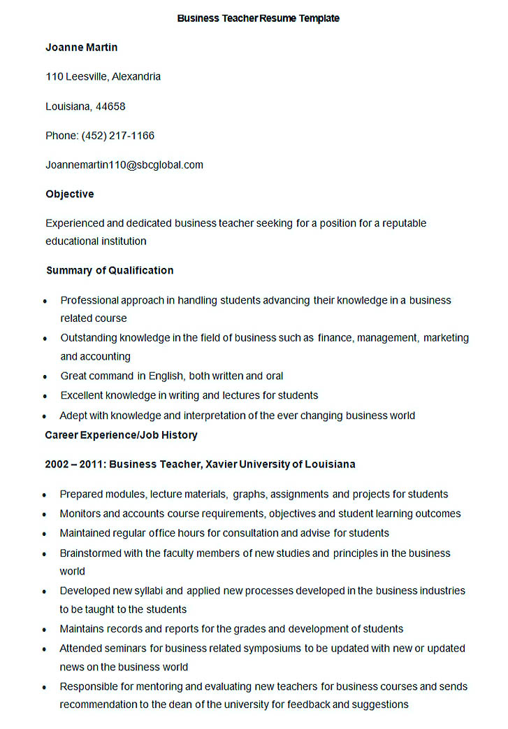Good Teachers Resume Format - Sample resume for islamic teacher