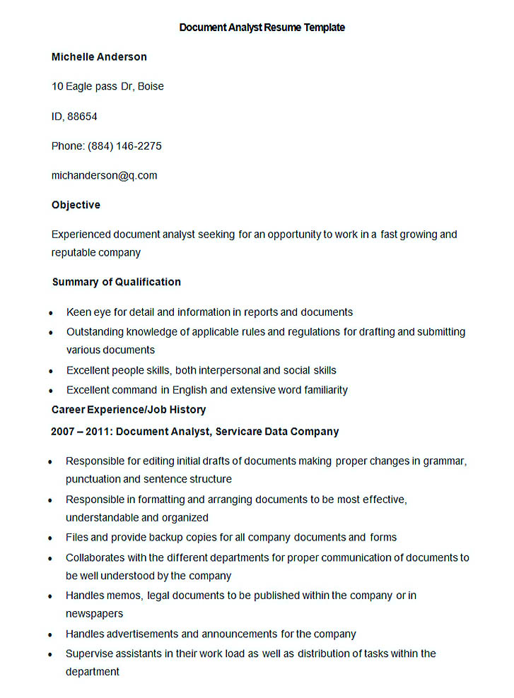 Good Teachers Resume Format