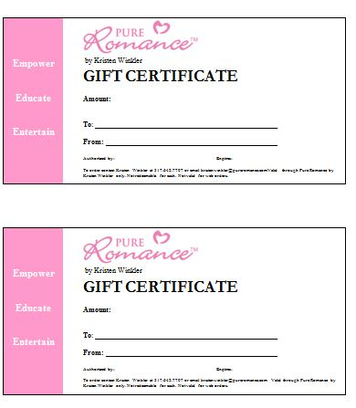 Points To Note Of Choosing Best Massage Gift Certificate Template