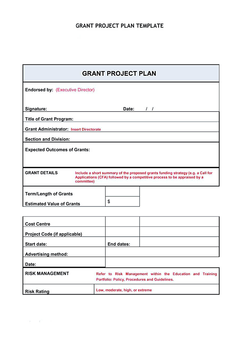 project budget template powerpoint