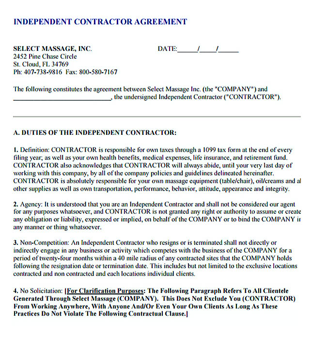 11+ Subcontractor Agreement Template For Successful Contractor Company