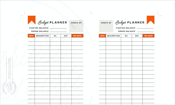Dailyimal Budget Planner