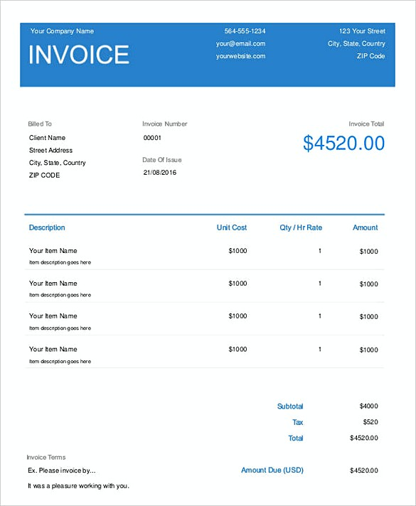 How To Plan Roofing Invoice Templates - Roofing invoice template free