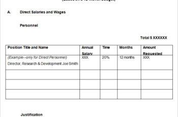 Marketing Budget Proposal Templates