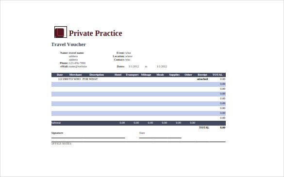 Private Practice Google Spreadsheet Template