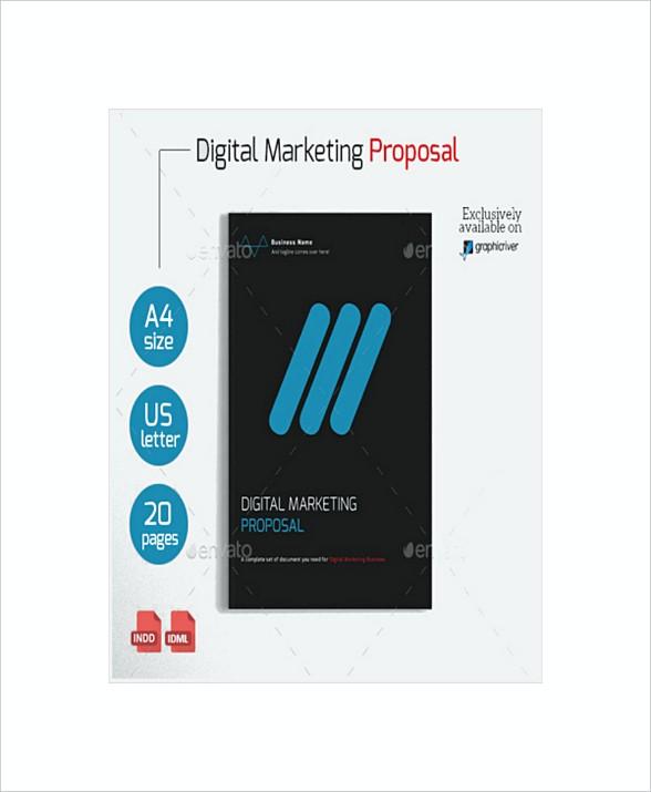 Sample Digital Marketing Proposal Template