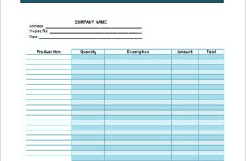 Service Invoice Free templates