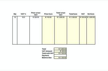 VAT Invoice templatess