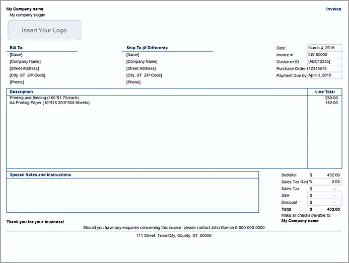 Easy Invoice Template Before You Can Start Implementing Practical - Easy invoice template