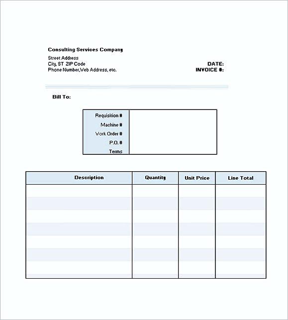 consultant invoice template. Black Bedroom Furniture Sets. Home Design Ideas
