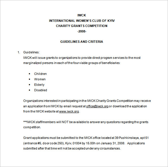 office Budget Proposal Format Free