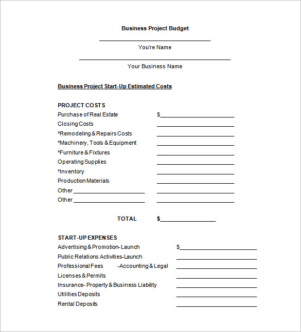 course project budget proposal template Where can i find written proposal sample documents there are several good internet sources such as psuedu.
