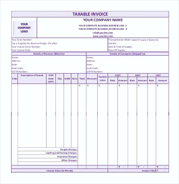 simple GST Invoice Format in PDF1