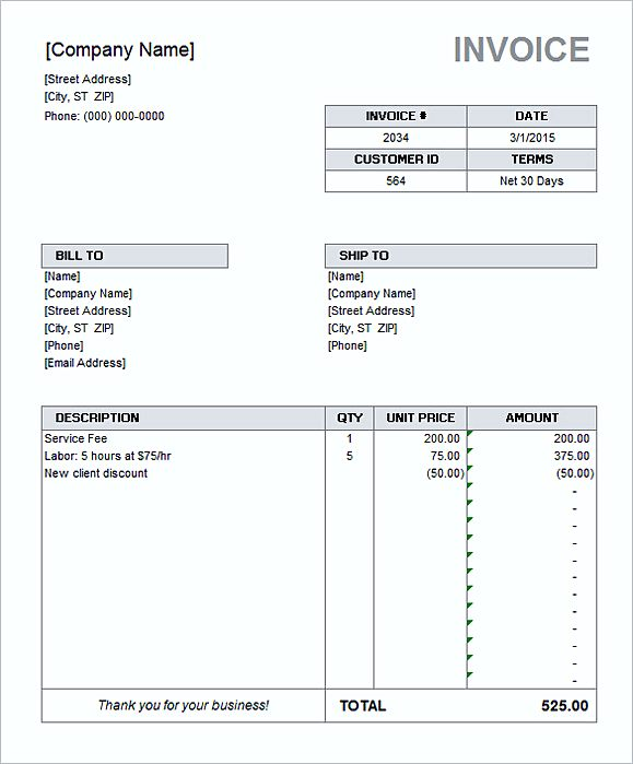 Net 30 Invoice. 6 Bfs Money Management Guide Invoice Format