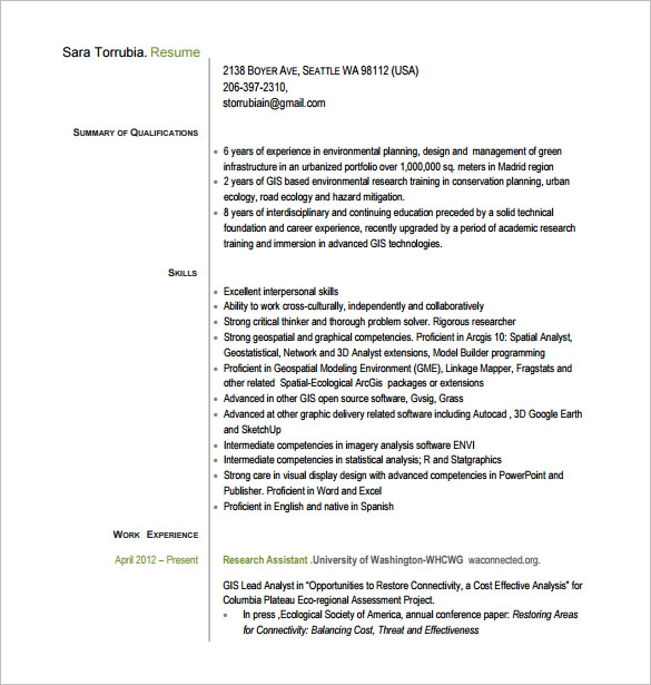 Assistant Project Manager Resume Free