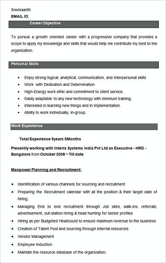 Business Manager Resume Samples  JobHero