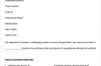 Sample Registered Nurse Resume templates