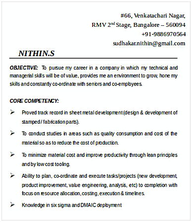 Product Development Manager Resume