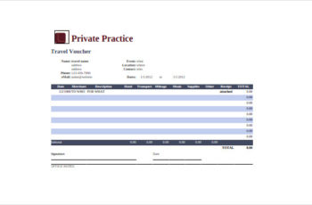 Private Practice Google Spreadsheet Template