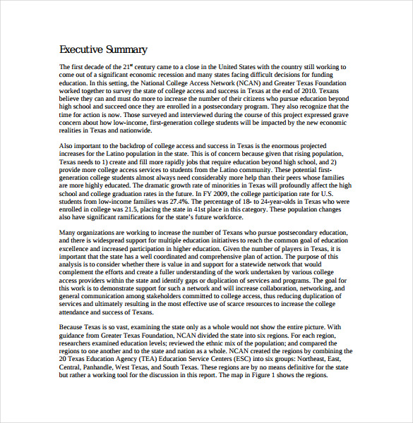 Texas College Access Inventory PDF