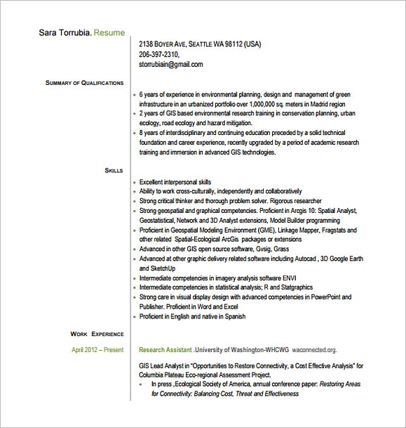 Assistant Project Manager Resume PDF Free Download 1