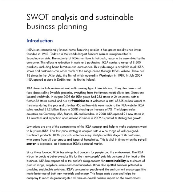 Company SWOT Analysis 2