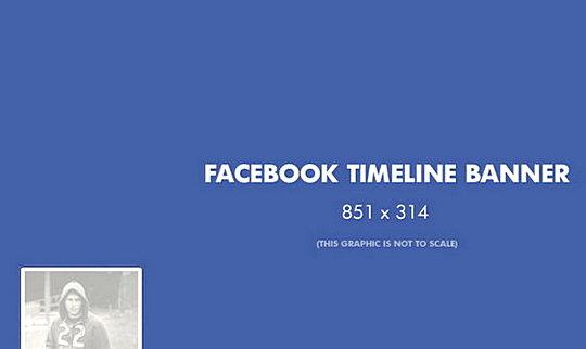 Facebook Timeline Banner Size templates