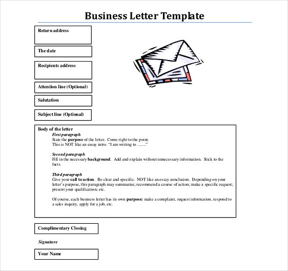 Format Business Letter templates