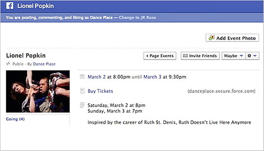 New Layout and Dimensions for Facebook