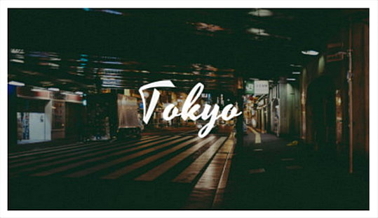 Tokyo Youtube Banner Maker