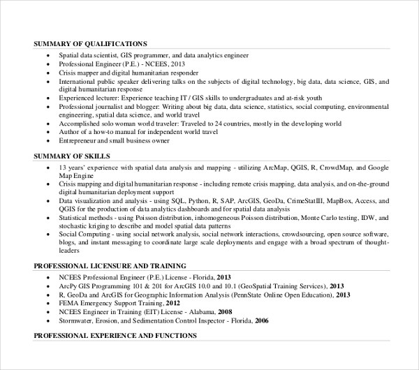 Contemporary Sales Manager Resume 1