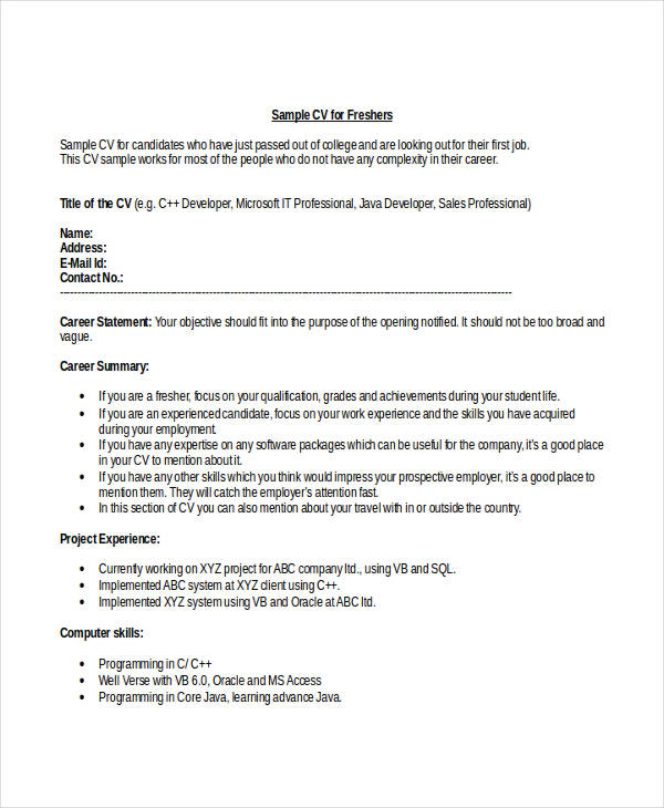 Engineering Student Fresher Resume2