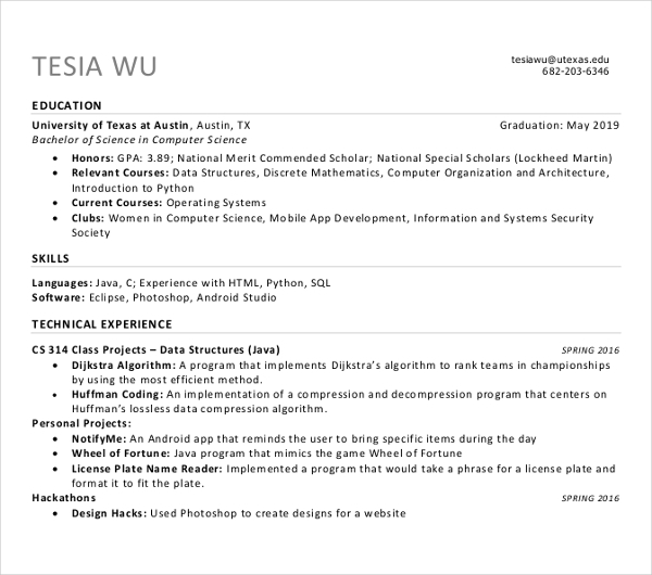 Sample Sales Manager Resume 1 1