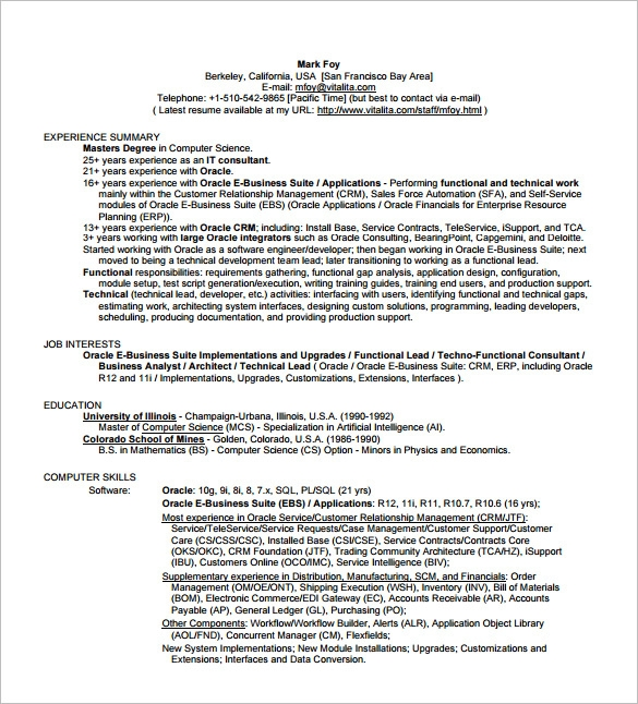 Technical Business Analyst Resume 1 1